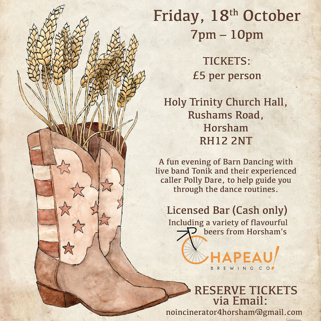 Barn Dance Events Poster