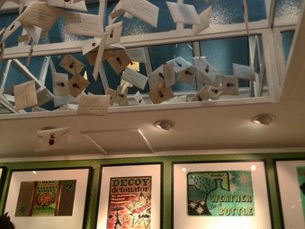 Minalima's Graphic Art of Harry Potter Exhibition