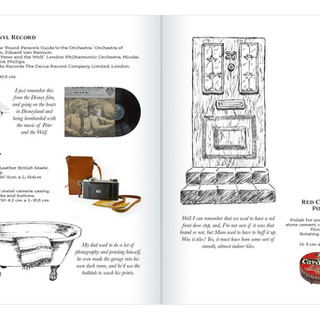 Reminiscence Book inspired by Horsham Museum and Art Gallery