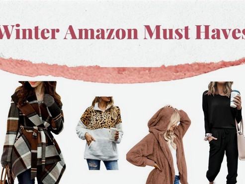 Winter Amazon Must-Haves