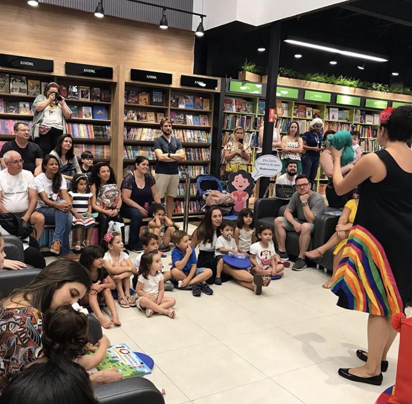 Lançamento do Livro em Campinas em 19-10-2019 na Livraria Leitura