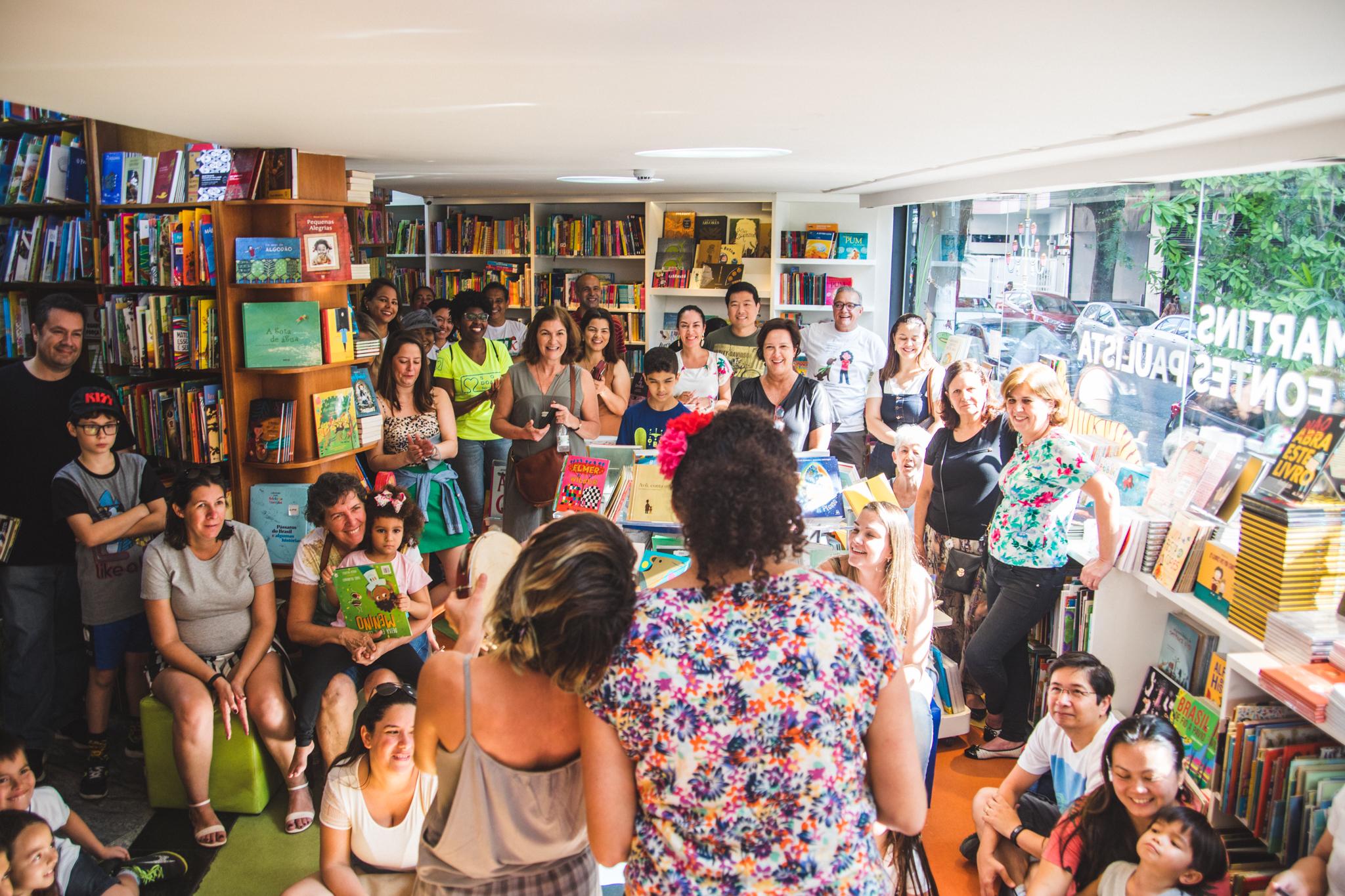 Lançamento do Livro em SP em 15-09-2019 na Livraria Martins Fontes