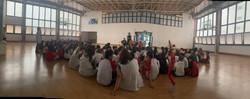 Contação de Histórias em 08-11-19 no Colégio Santa Amália/SP