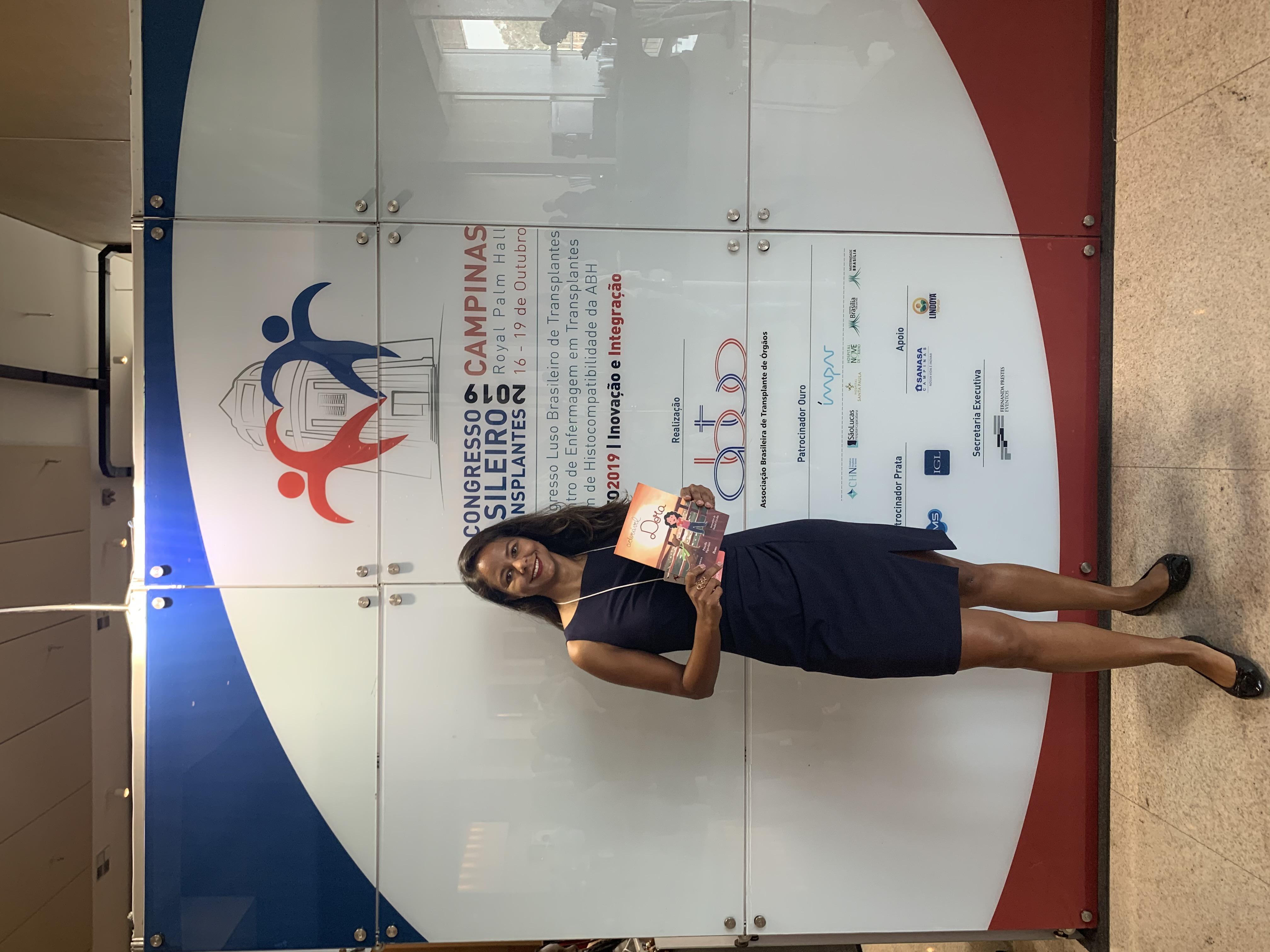 Participação da Dora em 17 e 18-10-20 no Congresso Brasileiro Transplante de Órgãos