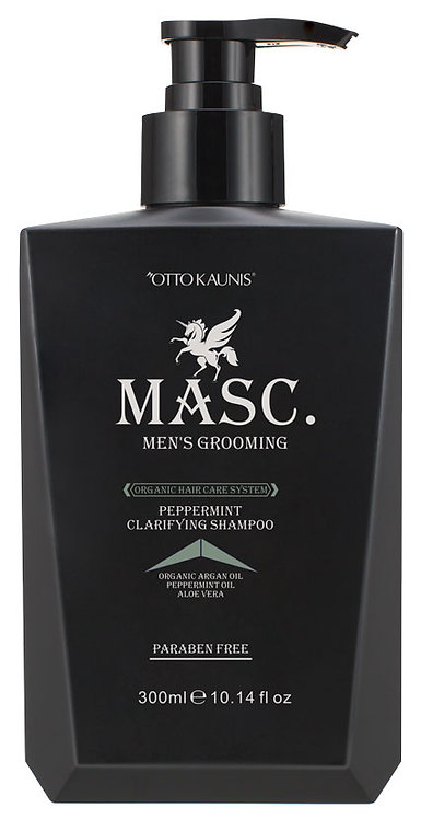 MASC.  Peppermint Clarifying Shampoo 300ml