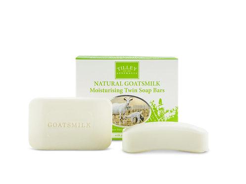TILLEY Goat Milk Soap Twin Pack
