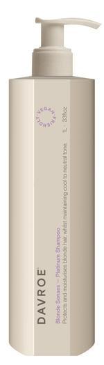 DAVROE Blonde Plantinum Shampoo 1 litre