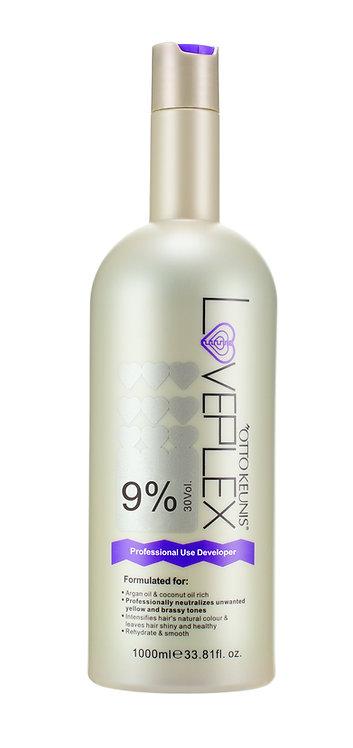 Loveplex Cream Developer 1000ml 30vol(9%)