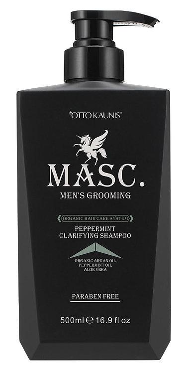 MASC.  Peppermint Clarifying Shampoo 500ml