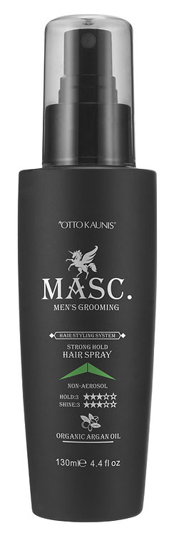 MASC. Strong Hold Hairspray 130ml