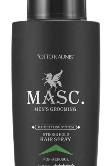 MASC.Strong Hold Hairspray 130ml