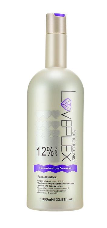 Loveplex Cream Developer 1000ml 40vol(12%)