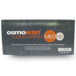OSMO IKON Colouring Meches Long 200 sheets