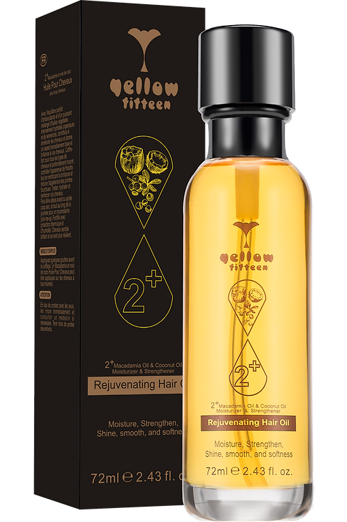 YELLOW FIFTEEN Rejuvenating Hair Serum 72ml