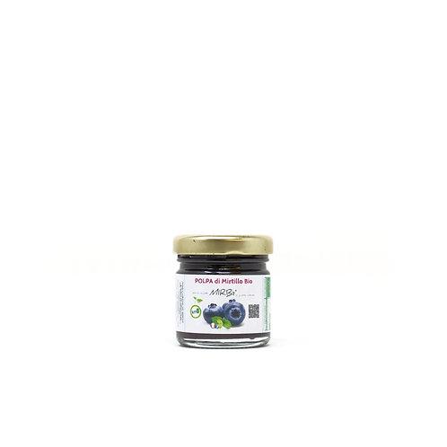 Polpa di mirtilli biologica monodose 40g