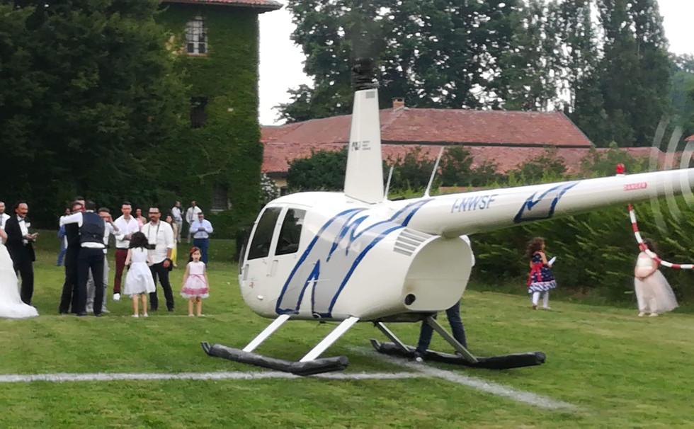 atterraggio elicottero