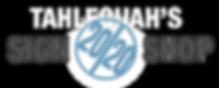 Logo header for the 2020 Sign Shop website