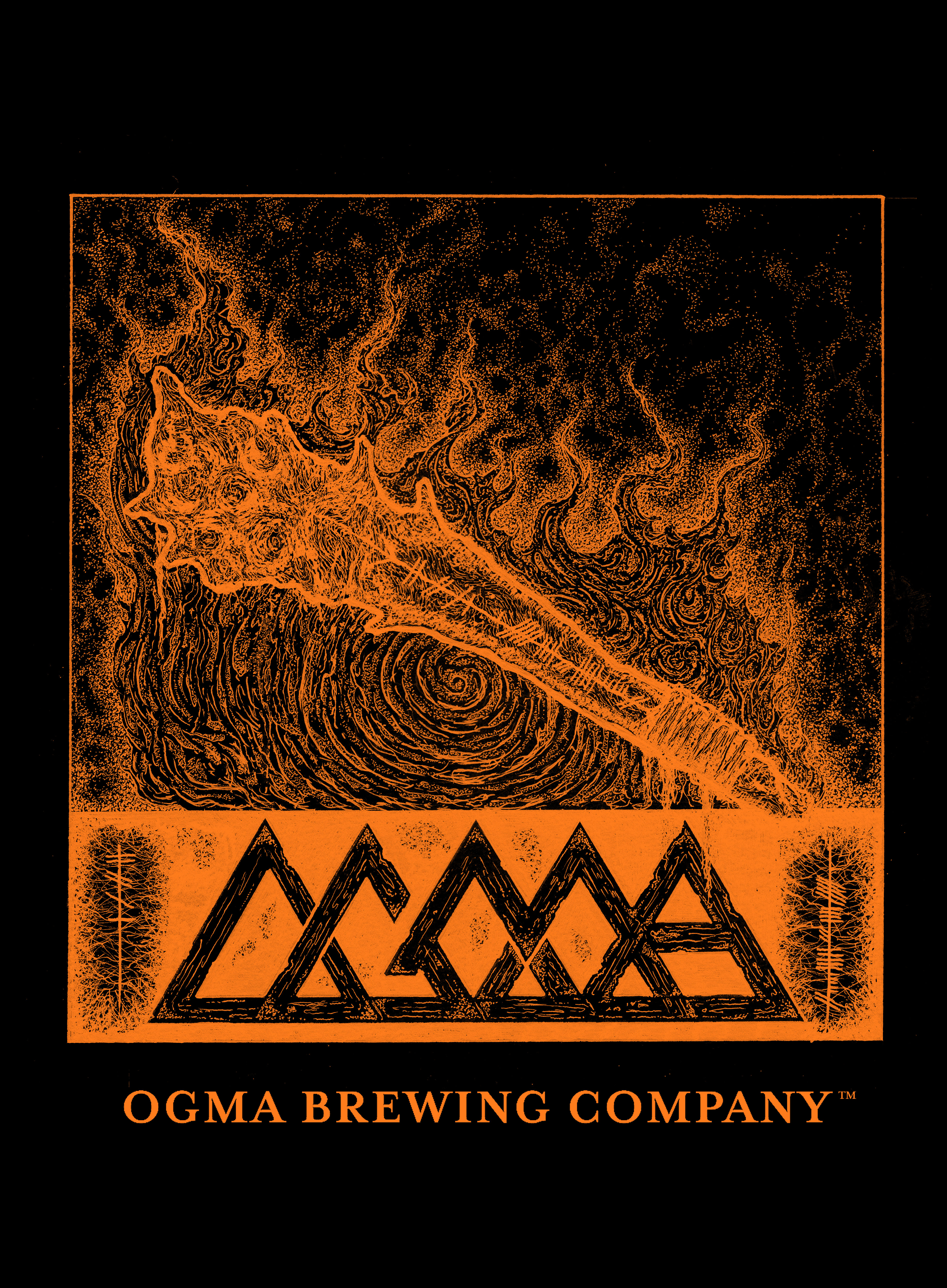 OGMA Brewing Company - Halloween Des