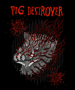 Pig destroyer Boar shirt layers