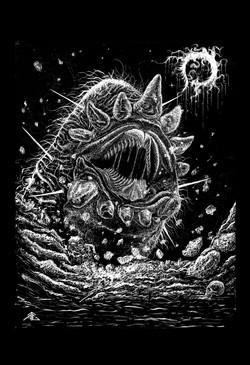 Spaceworm Destruction
