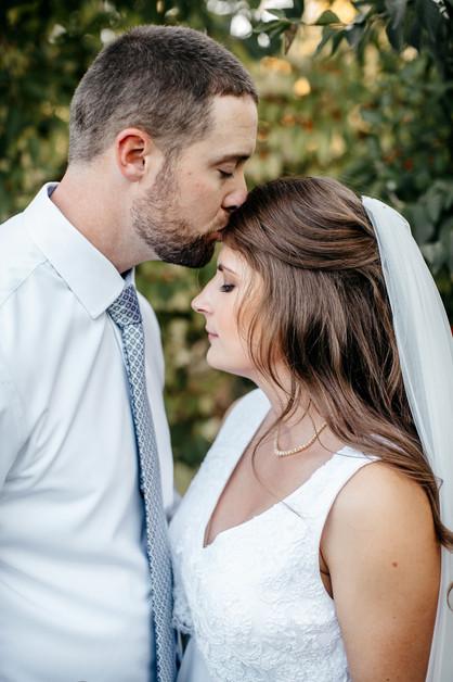 Courtney&Daniel Forehead Kiss.jpg