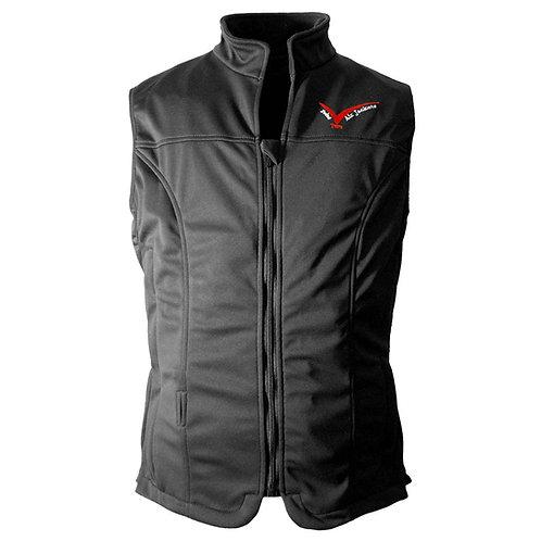 POINT TWO Softshell Safety Vest - Black
