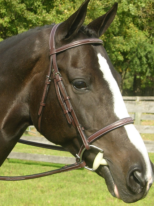 RED BARN SOVEREIGN HUNTER BRIDLE Product #5107