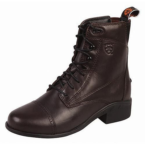 Performer Kids Lace Paddock by Ariat 50120-1833 Chocolate