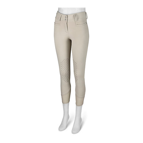 Harper Natural Rise Front Zip Silicone Breech