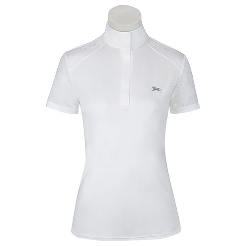 RJ Aerial Ladies' Short Sleeve Show Shirt w/37.5® Temperature Regulating Technol