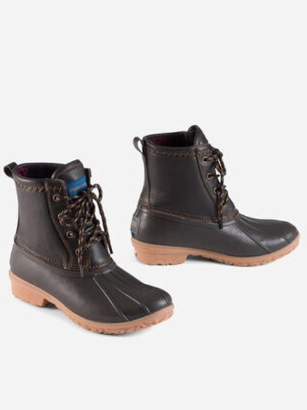 Pendleton Leather Upper Duck Boots