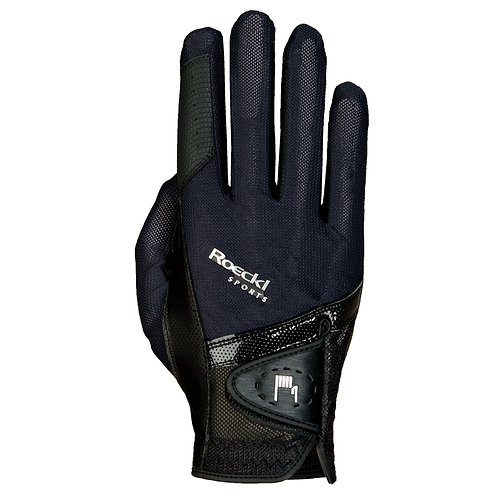 Roeckl Madrid Riding Glove - Unisex by Roeckl  #15-3301249BKGD-6