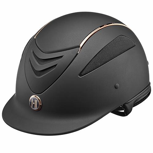 One K Defender Advance Wide Brim Matte Helmet 470661 Black