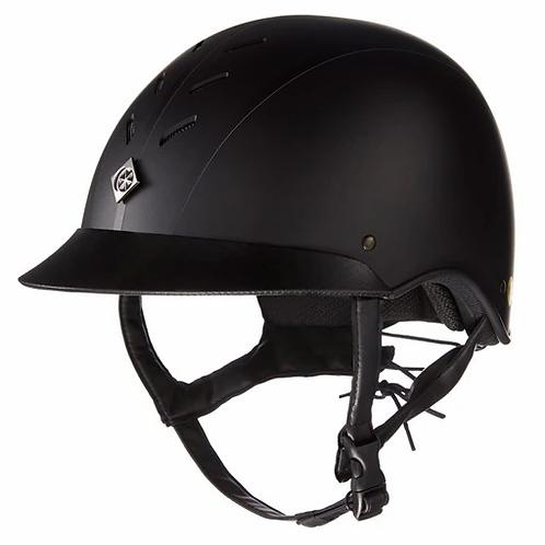 Charles Owen MyPS Helmet-Black-Regular Shape