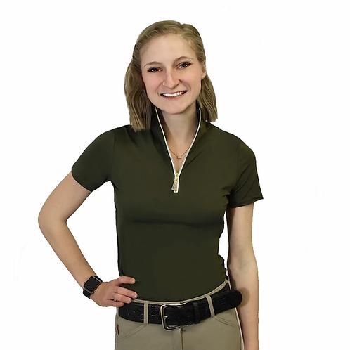 Tailored Sportsman Ladies Icefil Short Sleeve Sun Shirts