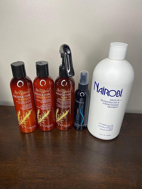 Influance Coconut Milk Hair Care Kit