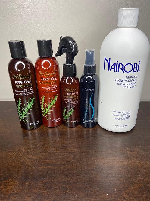 Influance Rosemary Hair Care Kit