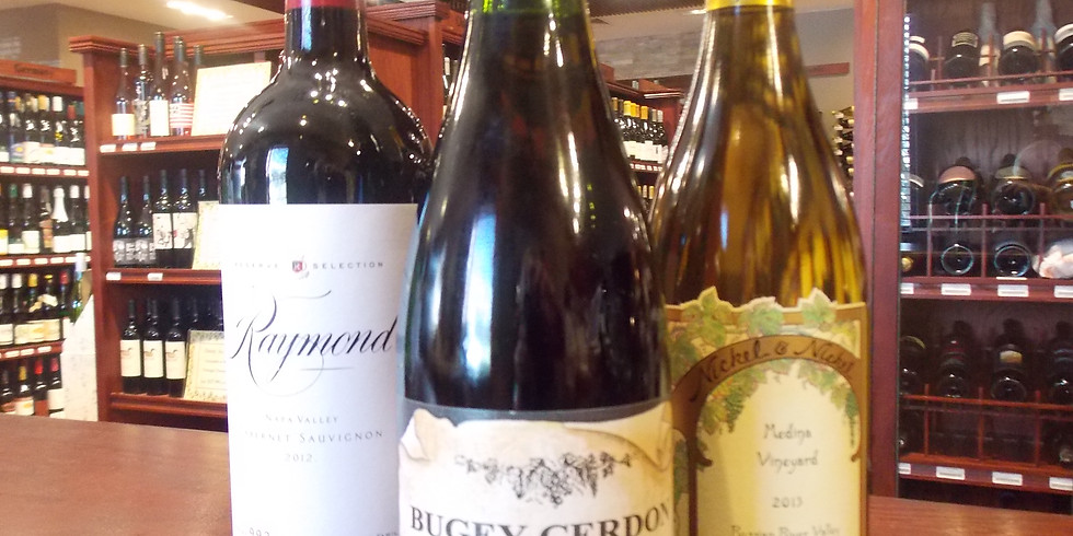 Wednesday Wine Tasting