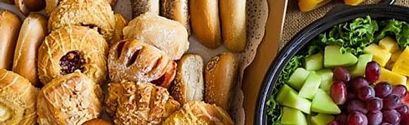 Breakfast Pastries & Fruits