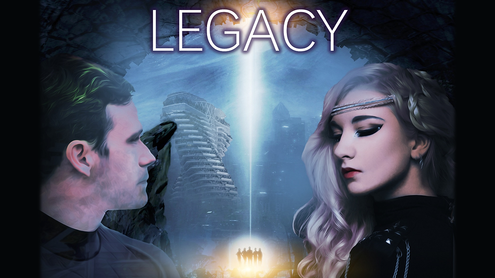 A Cosmic Legacy: From Earth to the Stars (Novel)