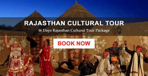 Rajasthan Cultural Tour - Rajasthan Cultural Holiday Packages