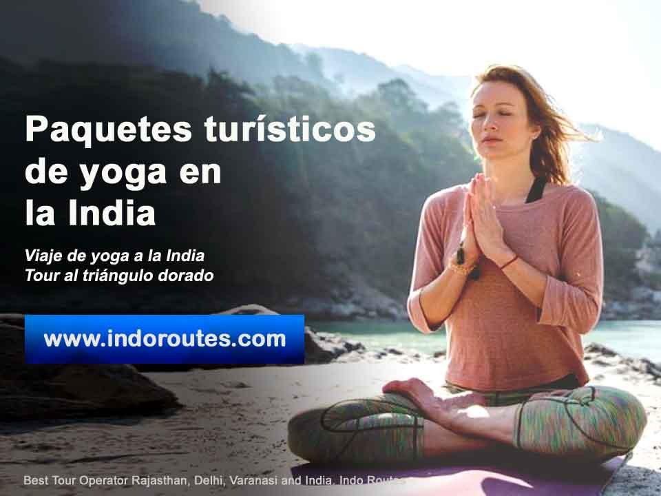 Paquetes turísticos de yoga en la India