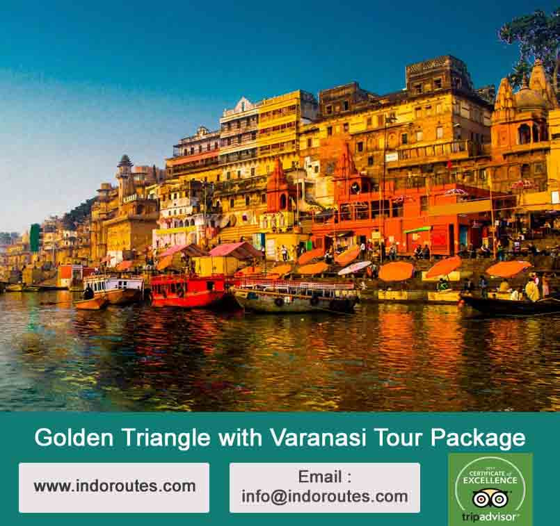 9 Days Golden Triangle with Varanasi Tour Package