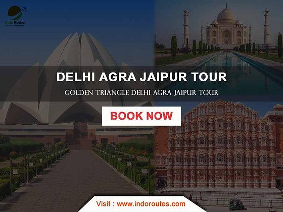 Delhi Agra Jaipur Tour Itinerary