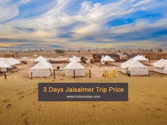3 Days Jaisalmer Trip Price