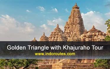 Triángulo de oro con Khajuraho