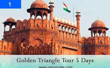 golden triangle tour 5 days