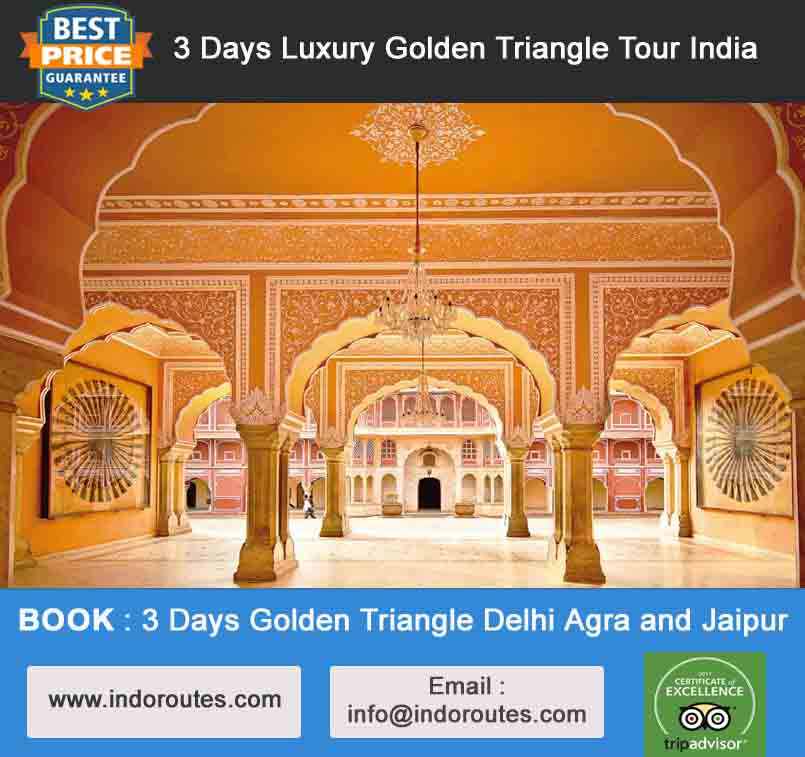 3 Days Private Luxury Golden Triangle Tour