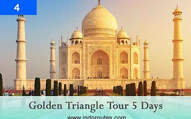 5 days golden triangle trip from delhi.j