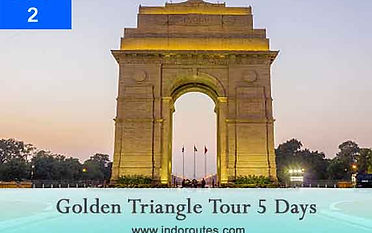 4 nights 5 days golden triangle package